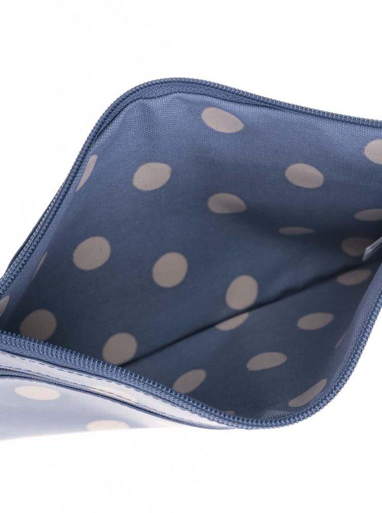 Modrá puntíkovaná kosmetická taštička Cath Kidston