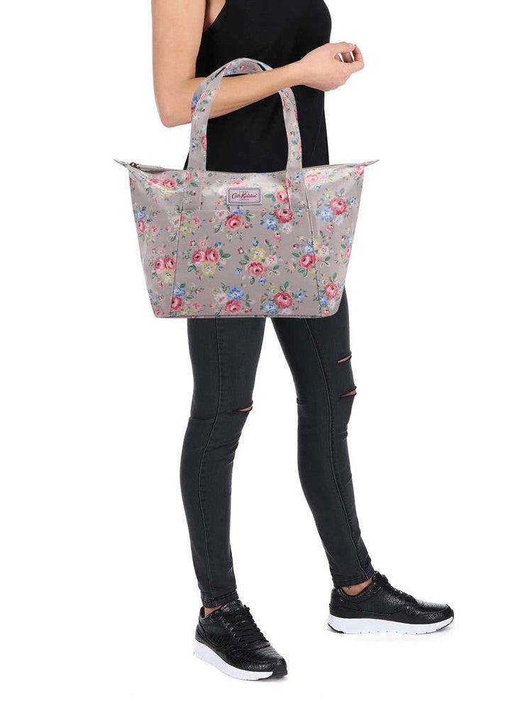 Béžová kvetinová kabelka Cath Kidston