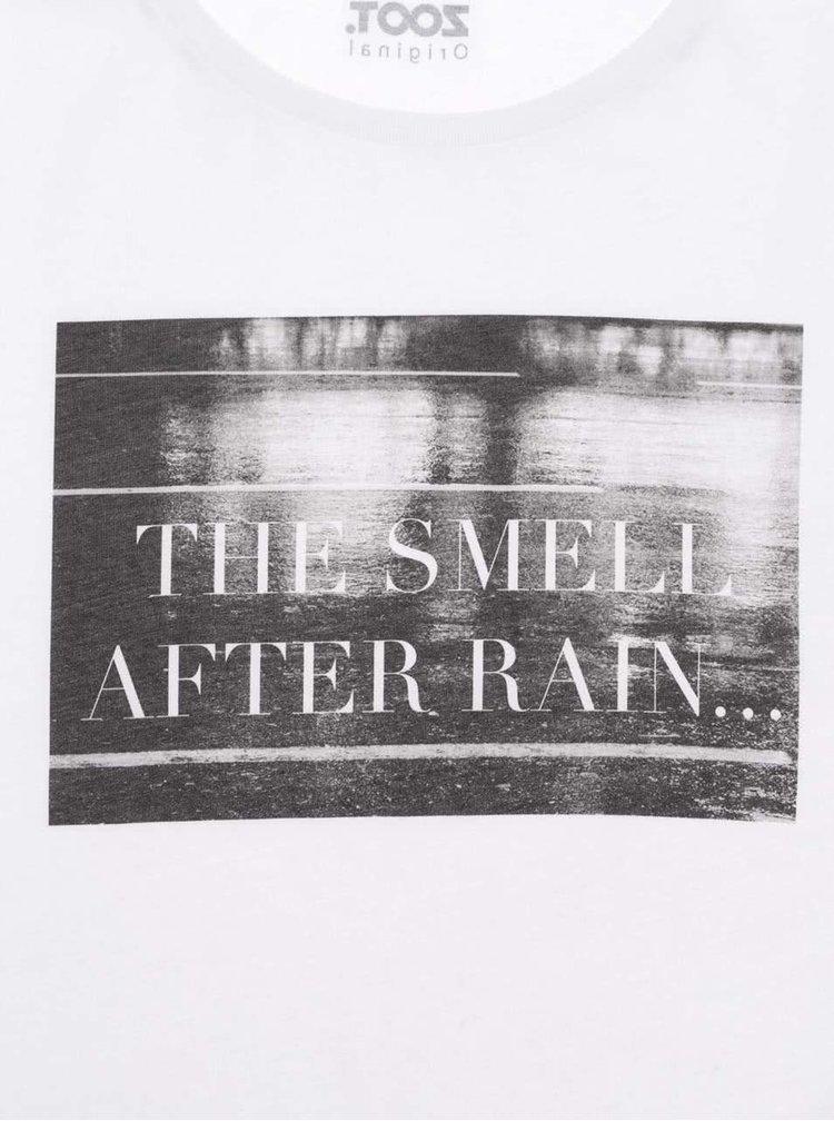 Bílé dámské tričko ZOOT Originál After Rain