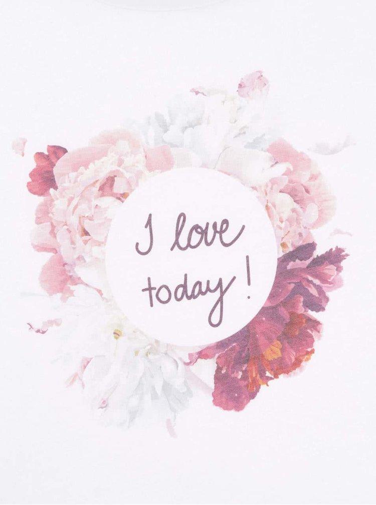 Biele dámske tričko ZOOT Originál I Love Today