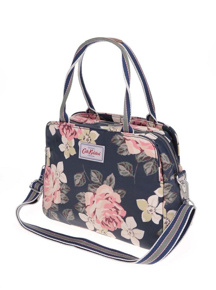 Tmavomodrá kvetinová kabelka Cath Kidston