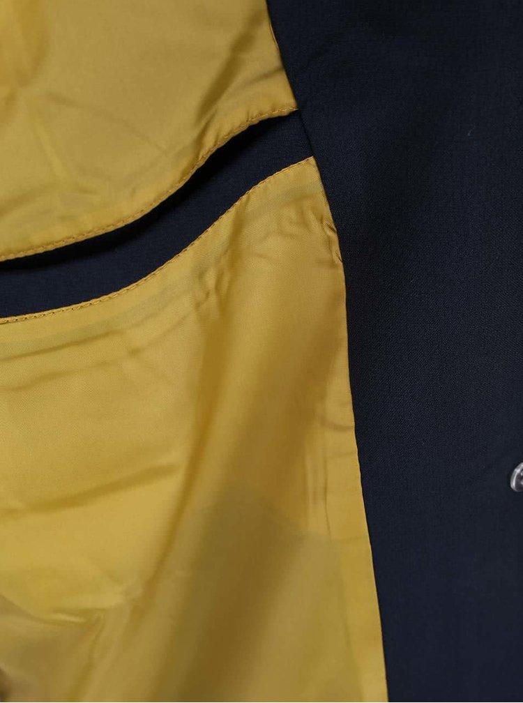 Tmavě modrý kabát VILA Cory