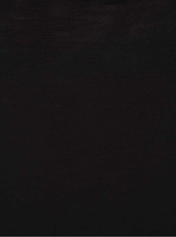 Čierne tielko VILA Lilja