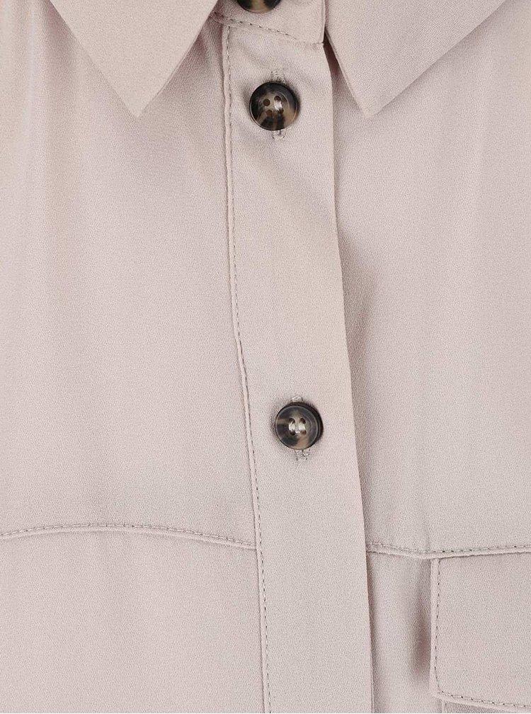 Telová košeľa bez rukávov Dorothy Perkins