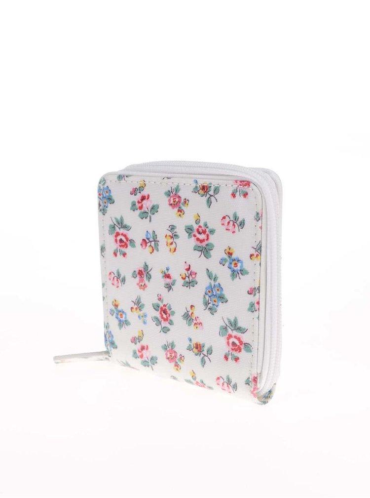 Bílá květovaná peněženka Cath Kidston