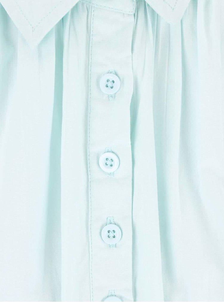 Mentolová košeľa s krátkym rukávom Desires Tarik