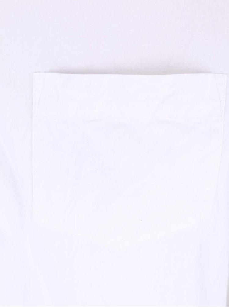 Biela oversized košeľa Desires Tarik