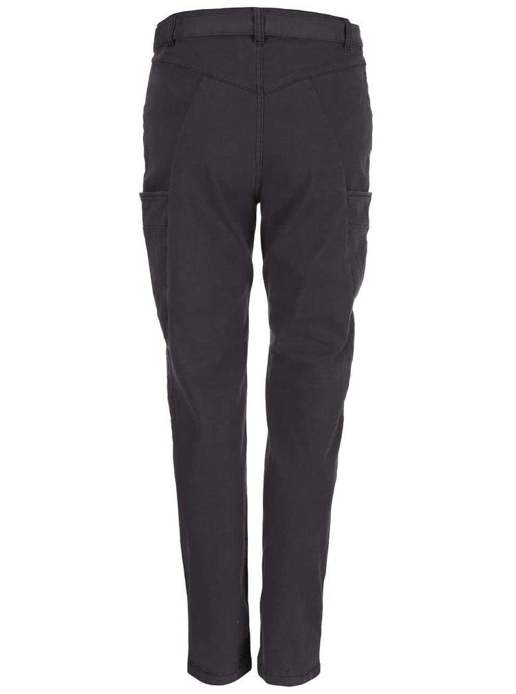 Tmavě šedé kalhoty Desires Twerk 2