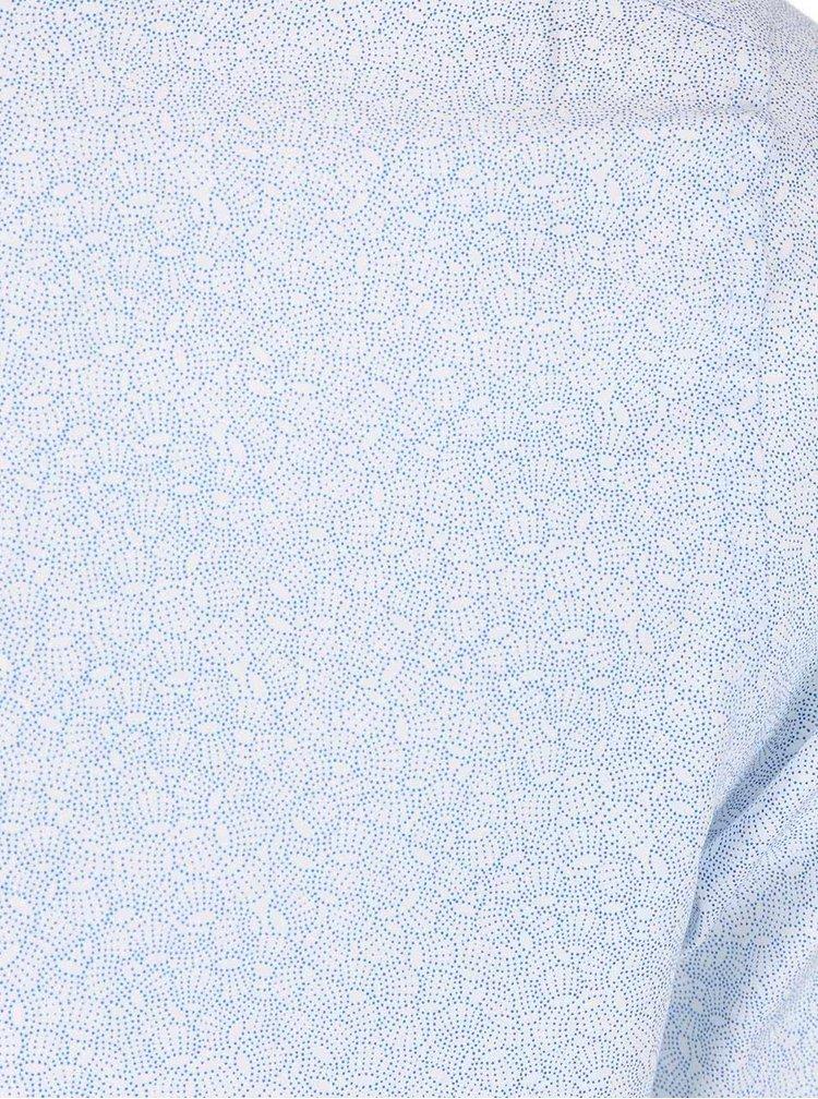 Cămașă cu model albastru și alb Selected Homme Roy