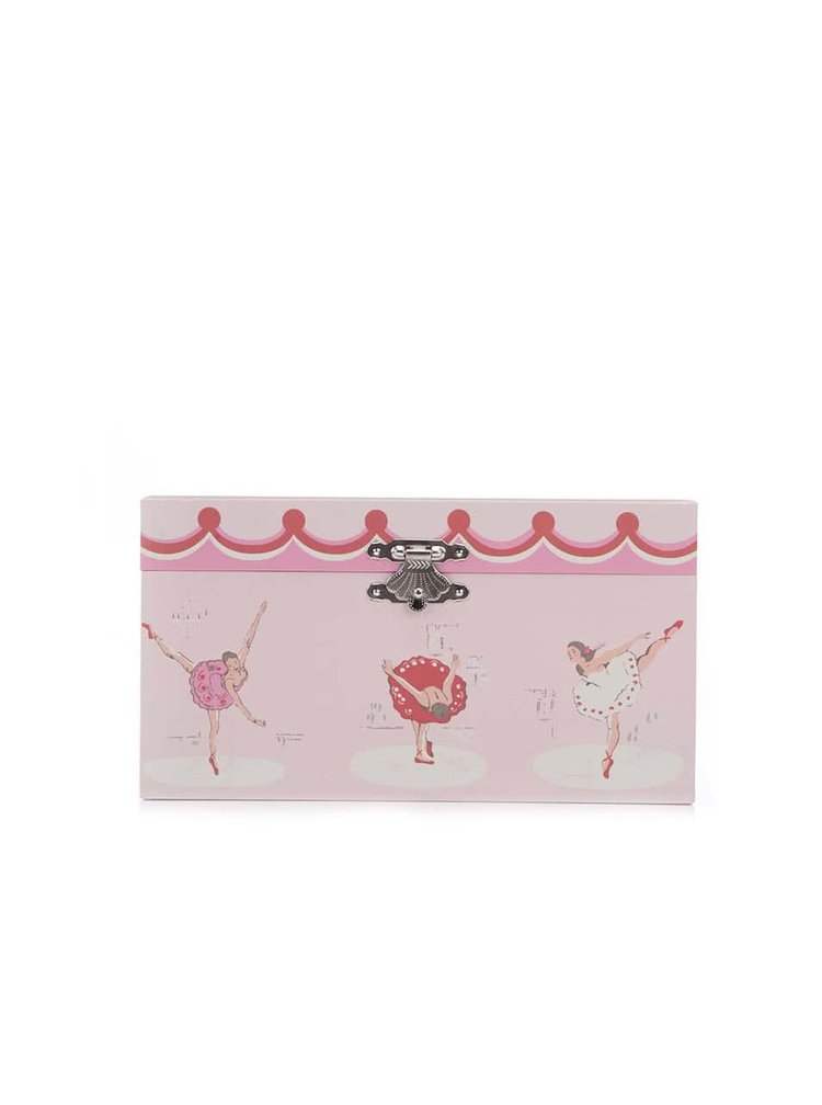 Růžová hrací šperkovnice s balerínou Cath Kidston