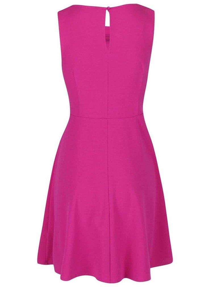 Růžové šaty s ozdobnou aplikací Dorothy Perkins