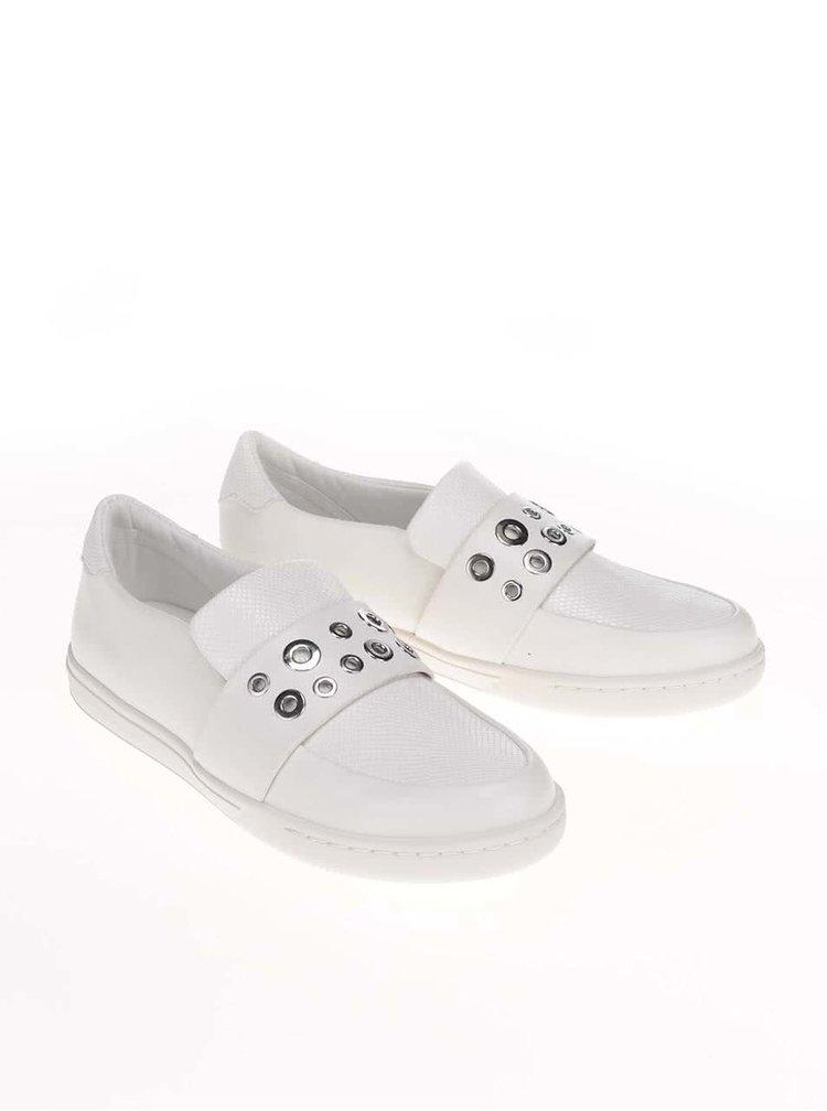 Bílé boty s kovovými detaily ALDO Satch