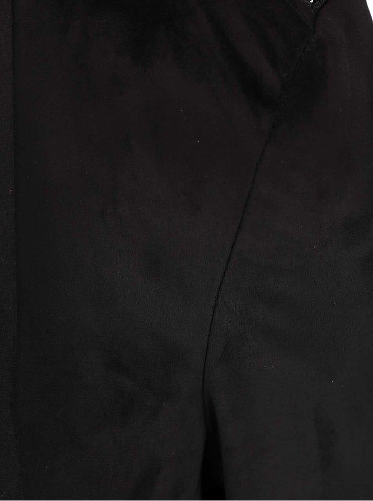 Blazer negru cu spate din dantela ONLY Sound