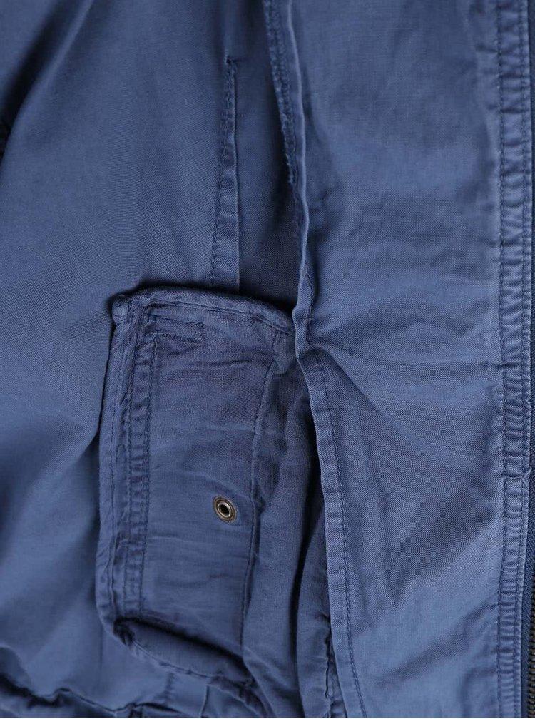 Jachetă subțire albastră ONLY Audrey