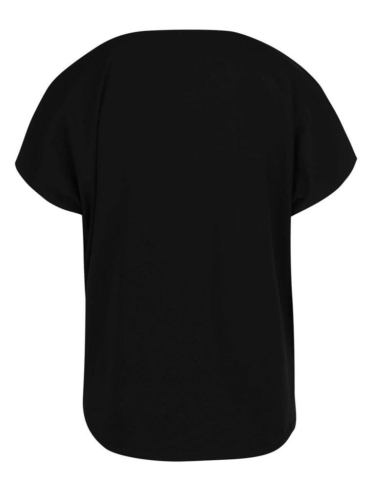 Čierne tričko ONLY Live Love
