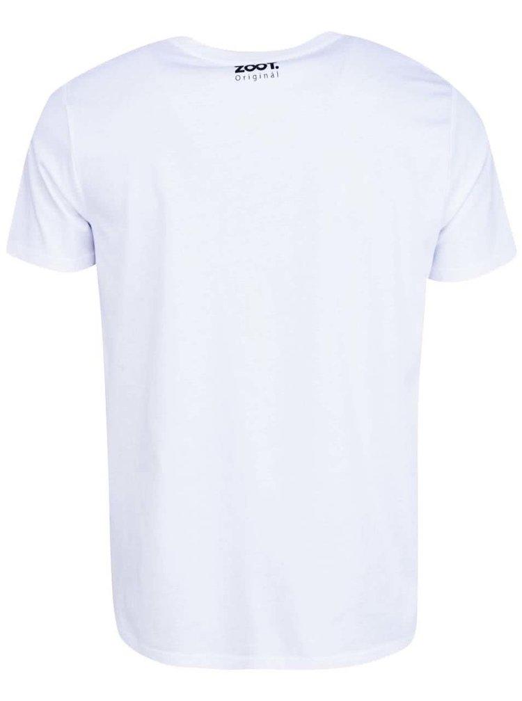 Bílé pánské tričko s potiskem ZOOT Originál Žralok