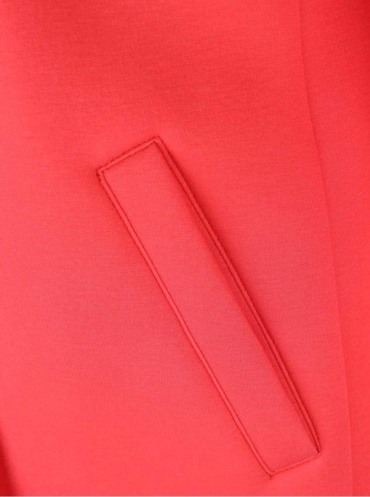 Červený dámsky kabát bugatti