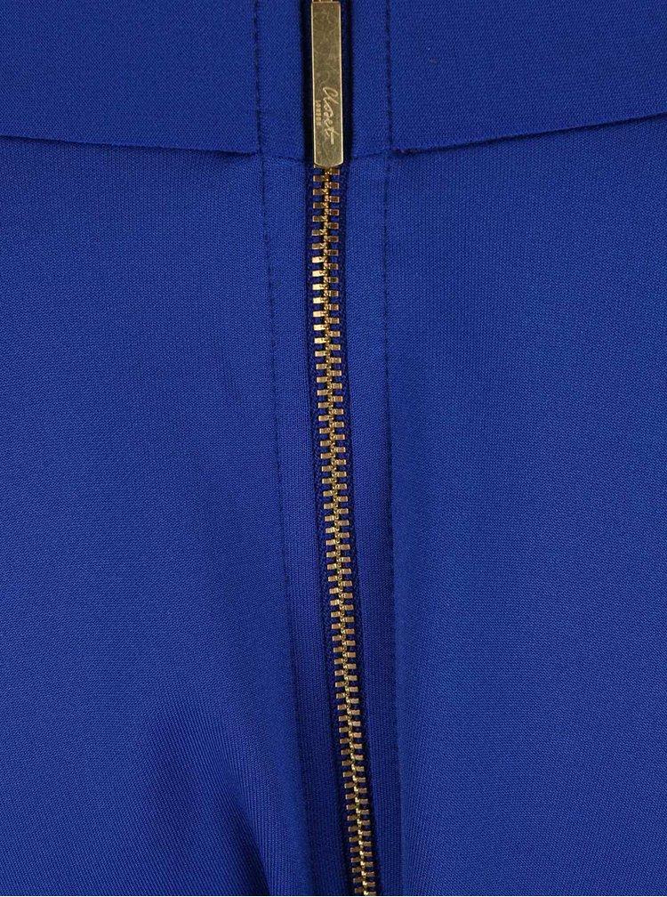 Fustă midi albastră Closet