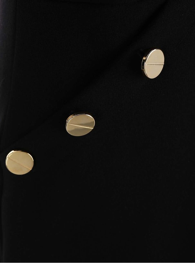 Rochie Closet neagră cu buzunare