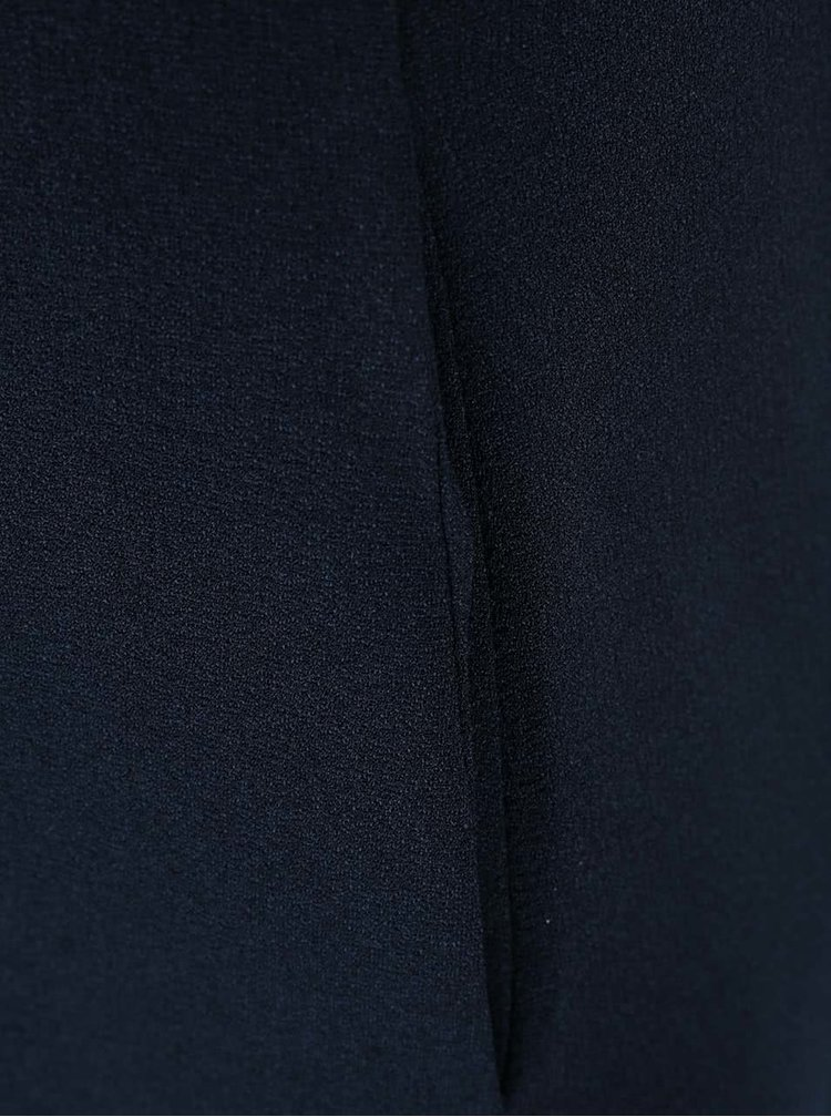 Rochie Closet neagră, cu fustă cu buline