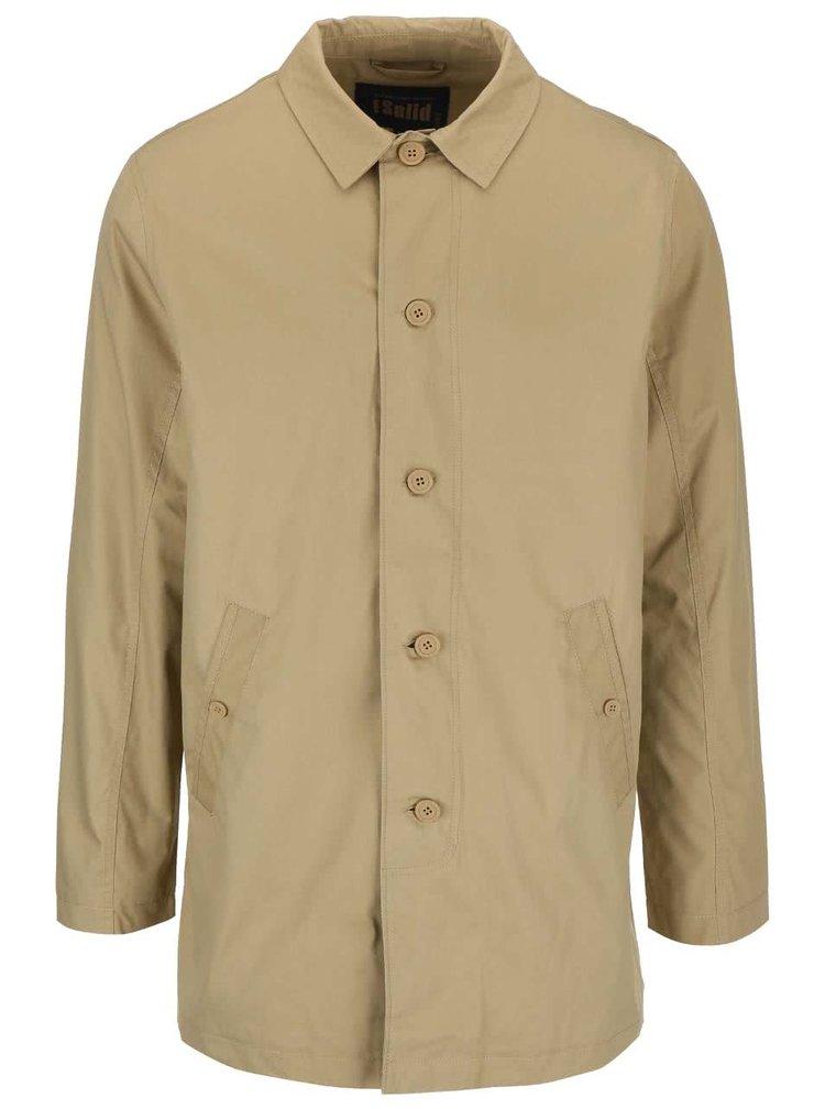 Béžový tenký kabát !Solid Alto