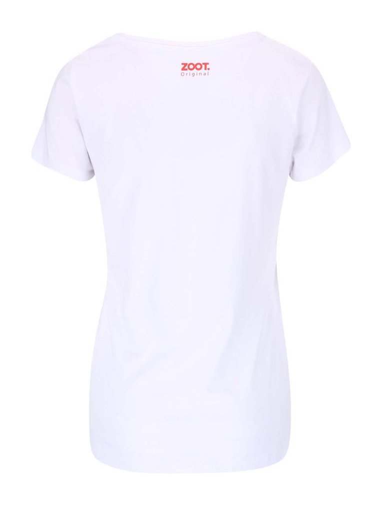 Biele dámske tričko ZOOT Originál 3D boobs