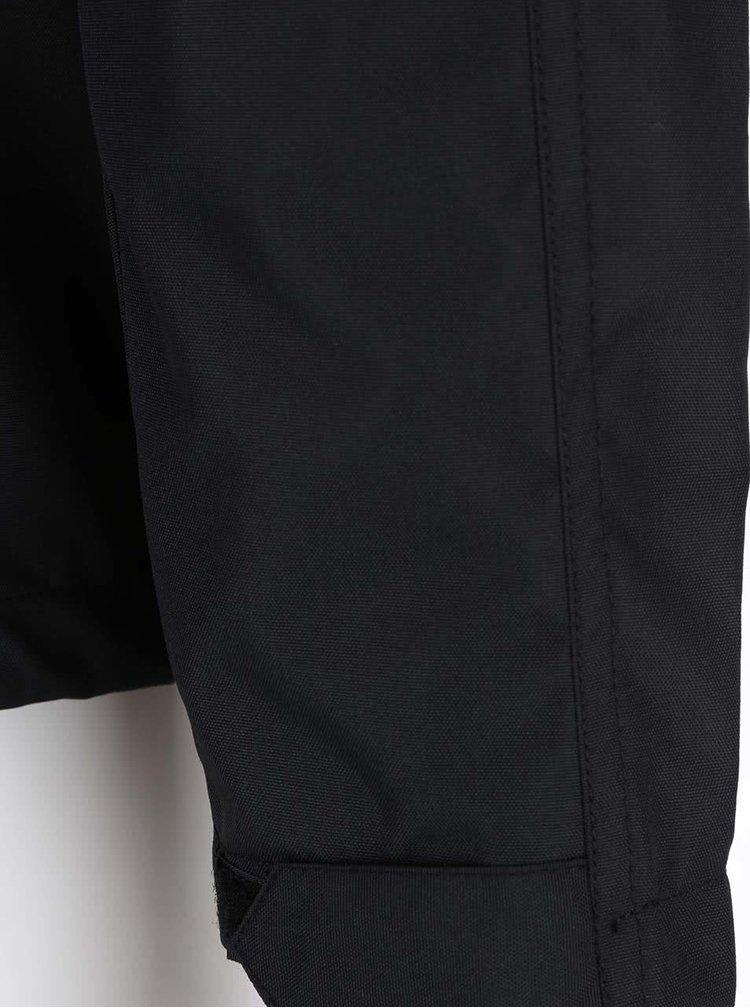 Čierna tenšia bunda !Solid Anders