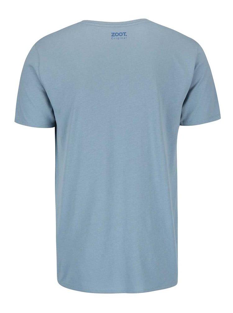 Modré pánské tričko  ZOOT Originál Moje žena