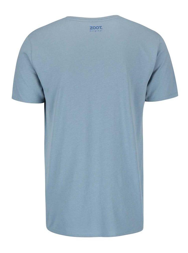 Modré pánské triko ZOOT Originál My Woman