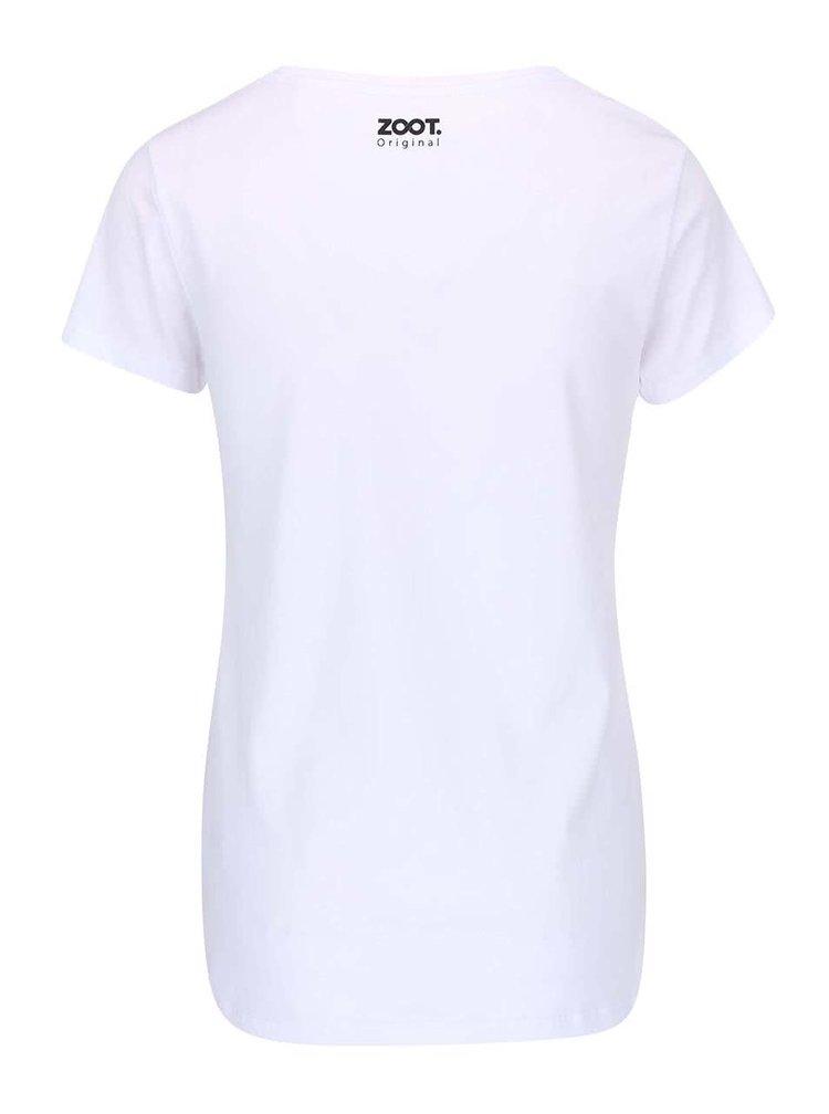Bílé dámské tričko ZOOT Originál Femme Fatale