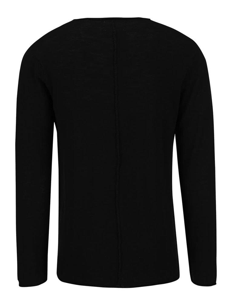 Čierny sveter !Solid Baxley