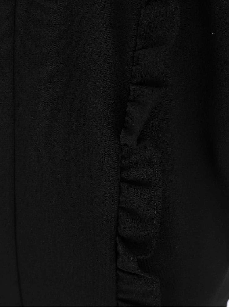 Rochie Dorothy Perkins neagră cu crețuri