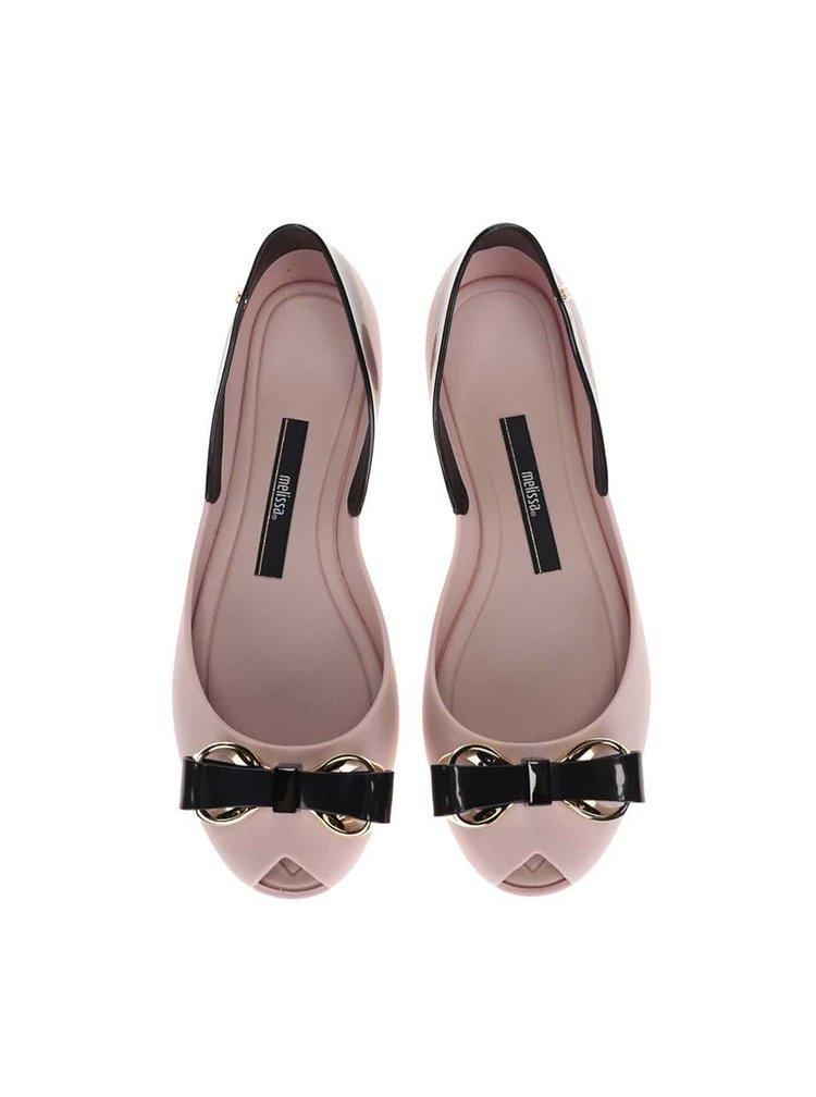 Balerini Melissa Queen negru cu roz mat