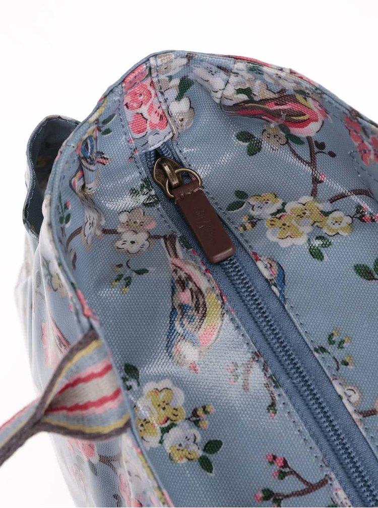 Modrá květovaná menší taška Cath Kidston