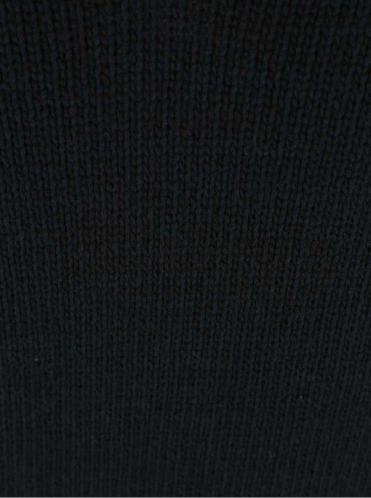 Pulover Noisy May Malin negru cu maneca scurta