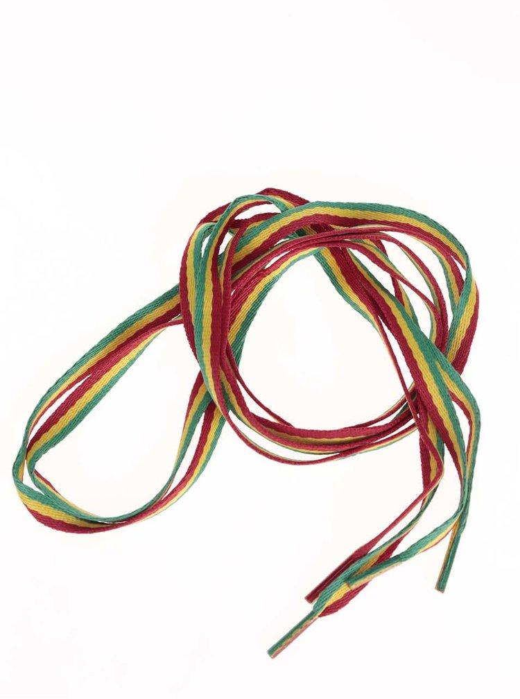 Șireturi Tubelaces multicolore (120 cm)