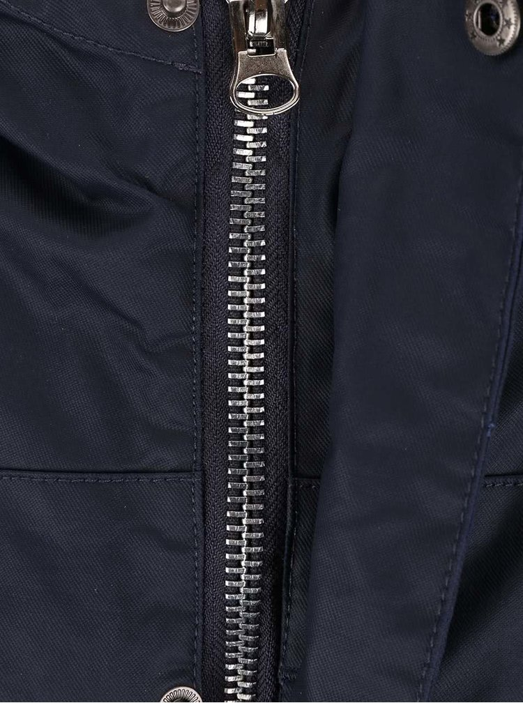 Bellfield Albany Navy Blue Hooded Jacket