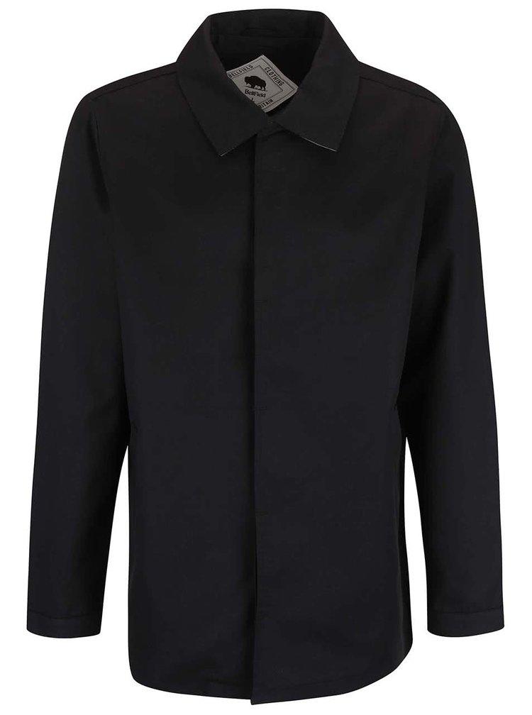 Čierny pánsky ľahký kabát Bellfield Gota