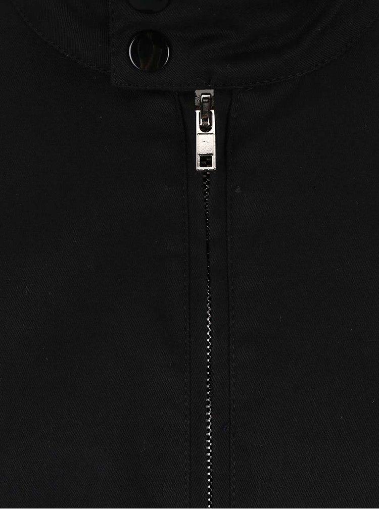 Čierna tenšia bunda Bellfield Dorsey