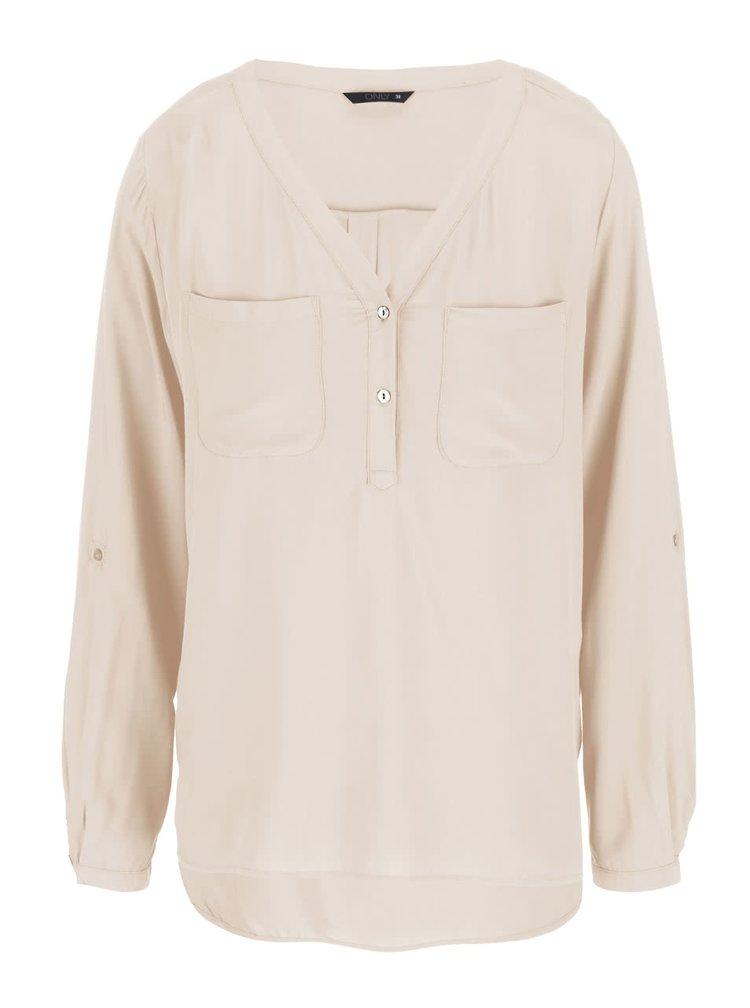 Bluză ONLY Nova - bej