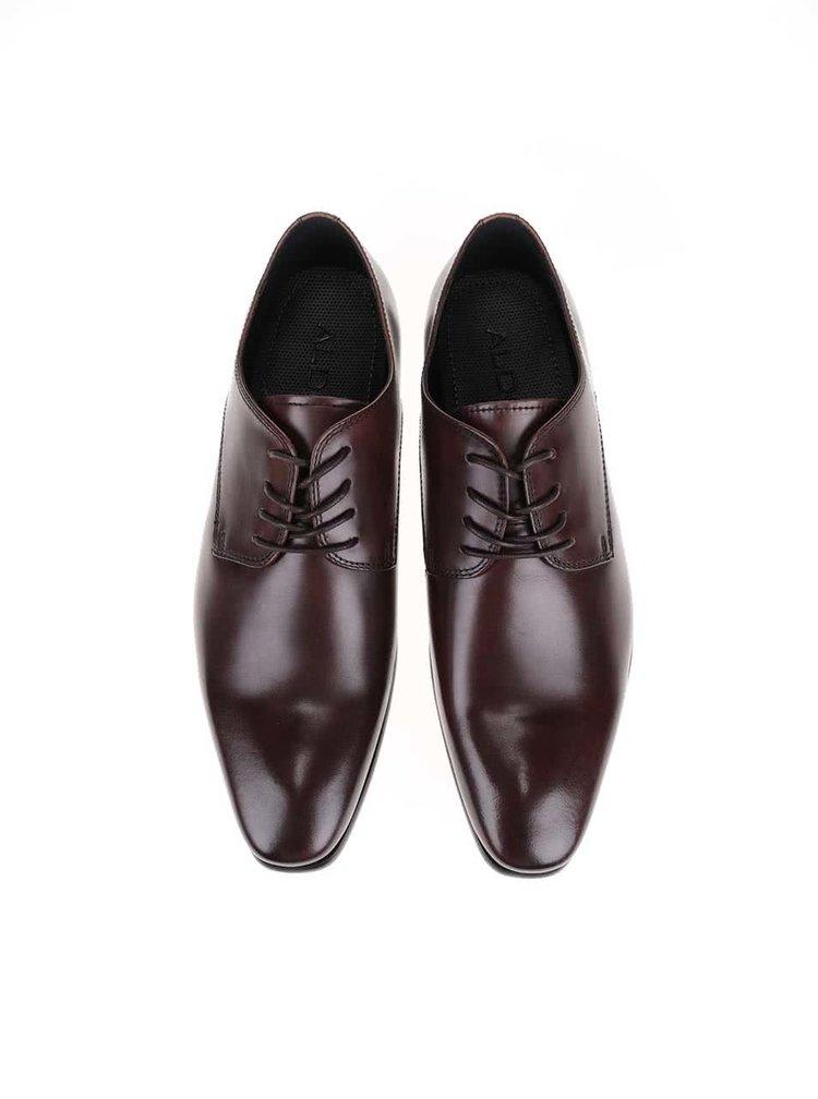 Pantofi Oxford ALDO Dalce maro bărbătești din piele