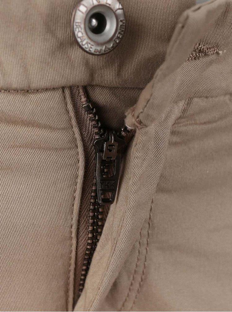 Béžové chino nohavice ONLY Paris