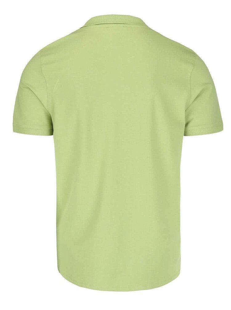 Světle zelené polo triko Selected Homme Haro