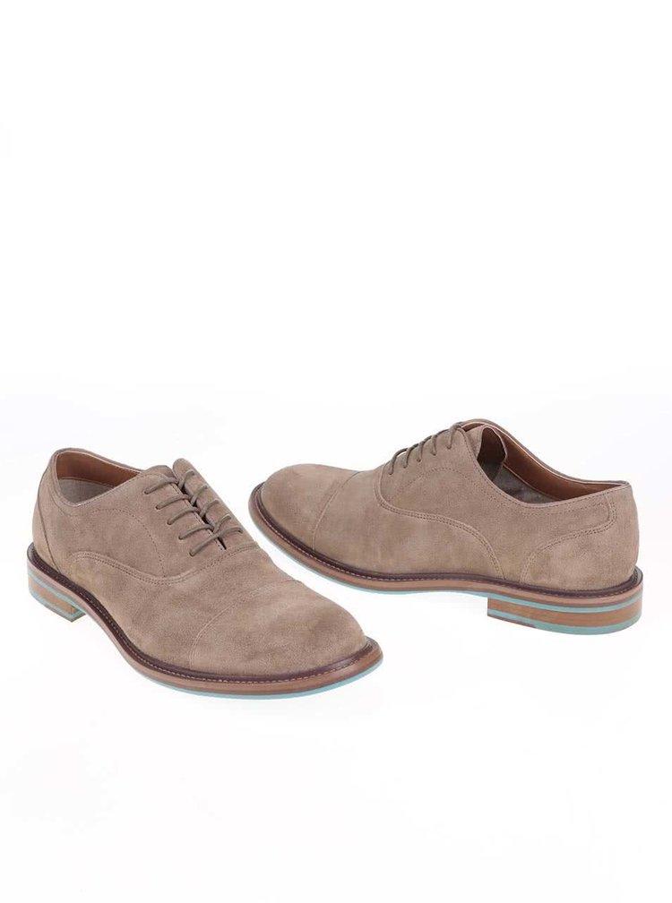 Pantofi ALDO Fantino bej barbatesti din piele