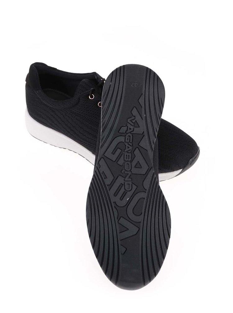 Čierne prepletané tenisky Vagabond Cintia