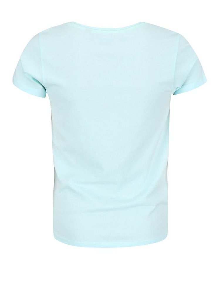 Světle modré holčičí tričko s potiskem Blue Seven Fashion Gang