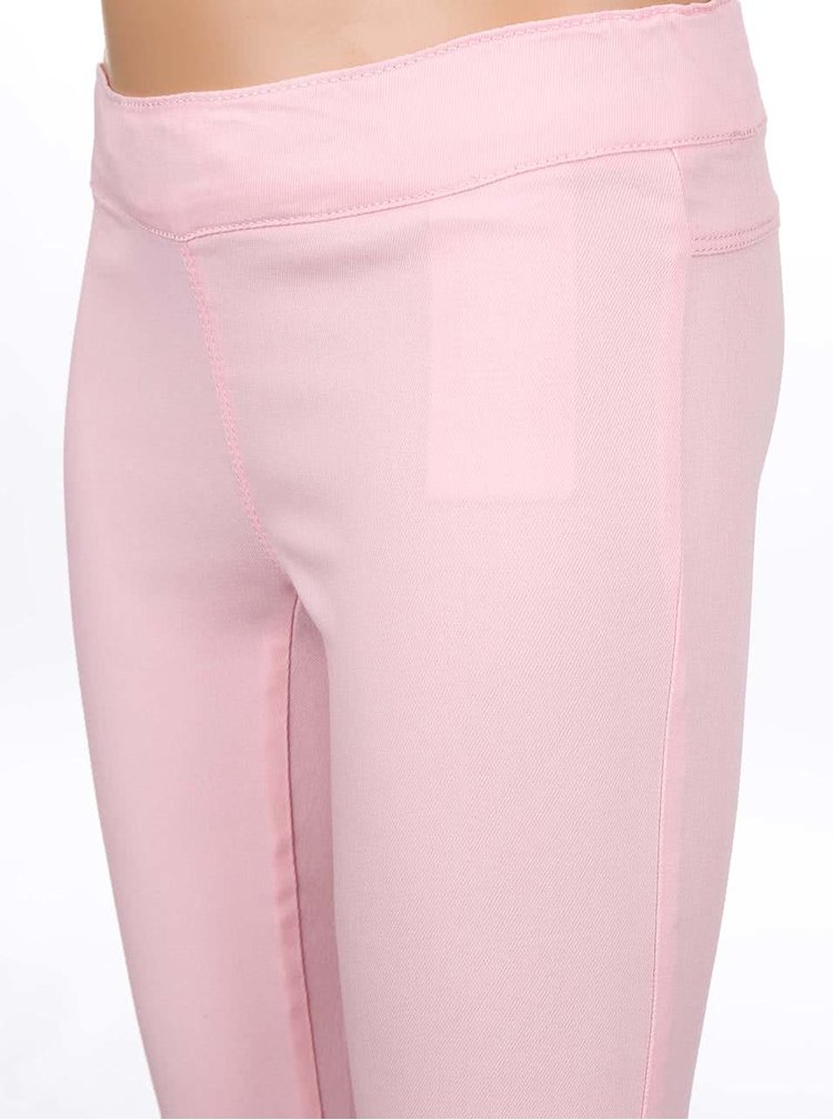 Světle růžové holčičí kalhoty name it Fanja