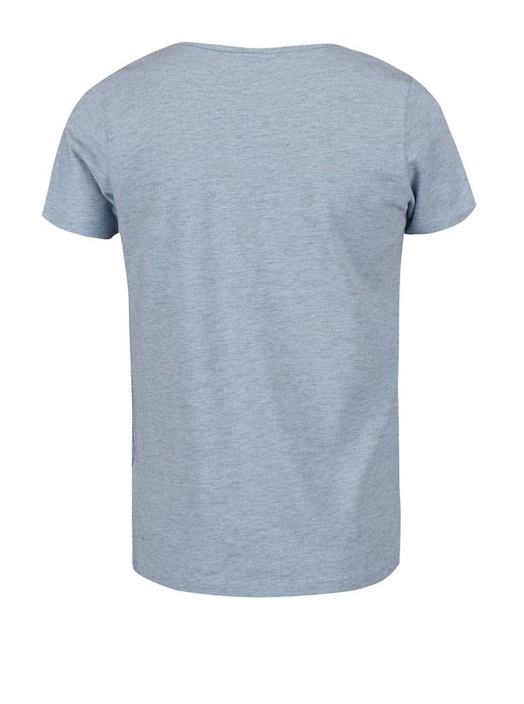 Světle modré holčičí tričko s dezerty name it Fabob