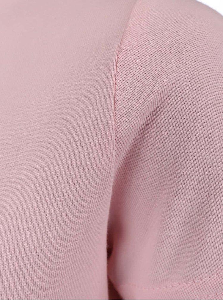 Ružové dievčenské tričko s potlačou name it Fabibi