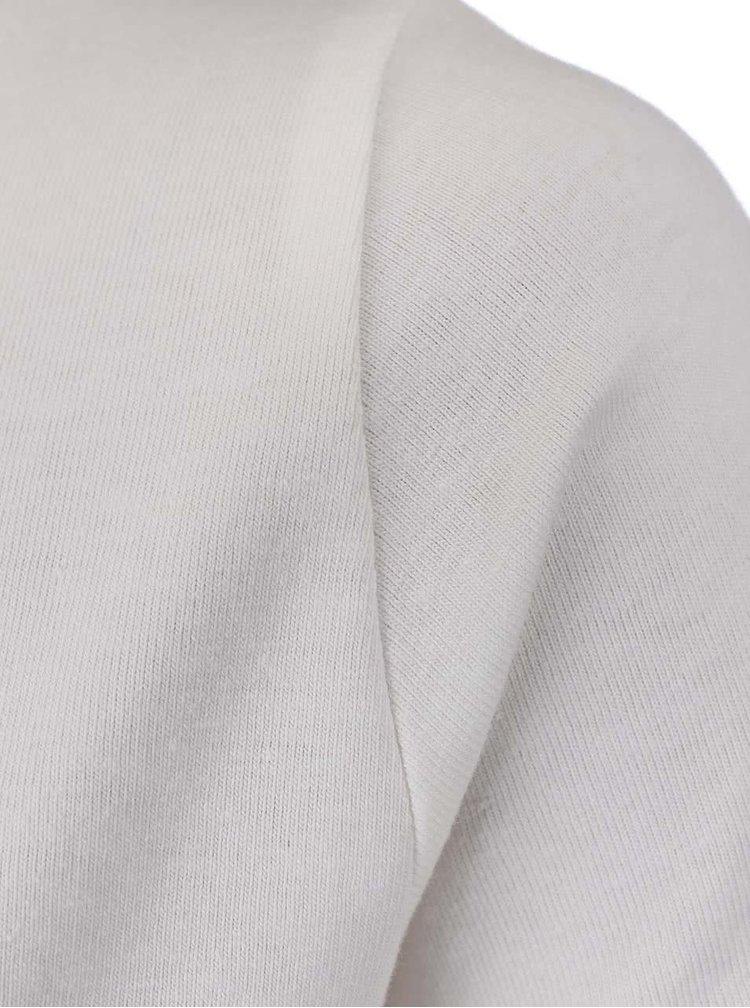 Tricou name it Fabibi alb murdar pentru fete